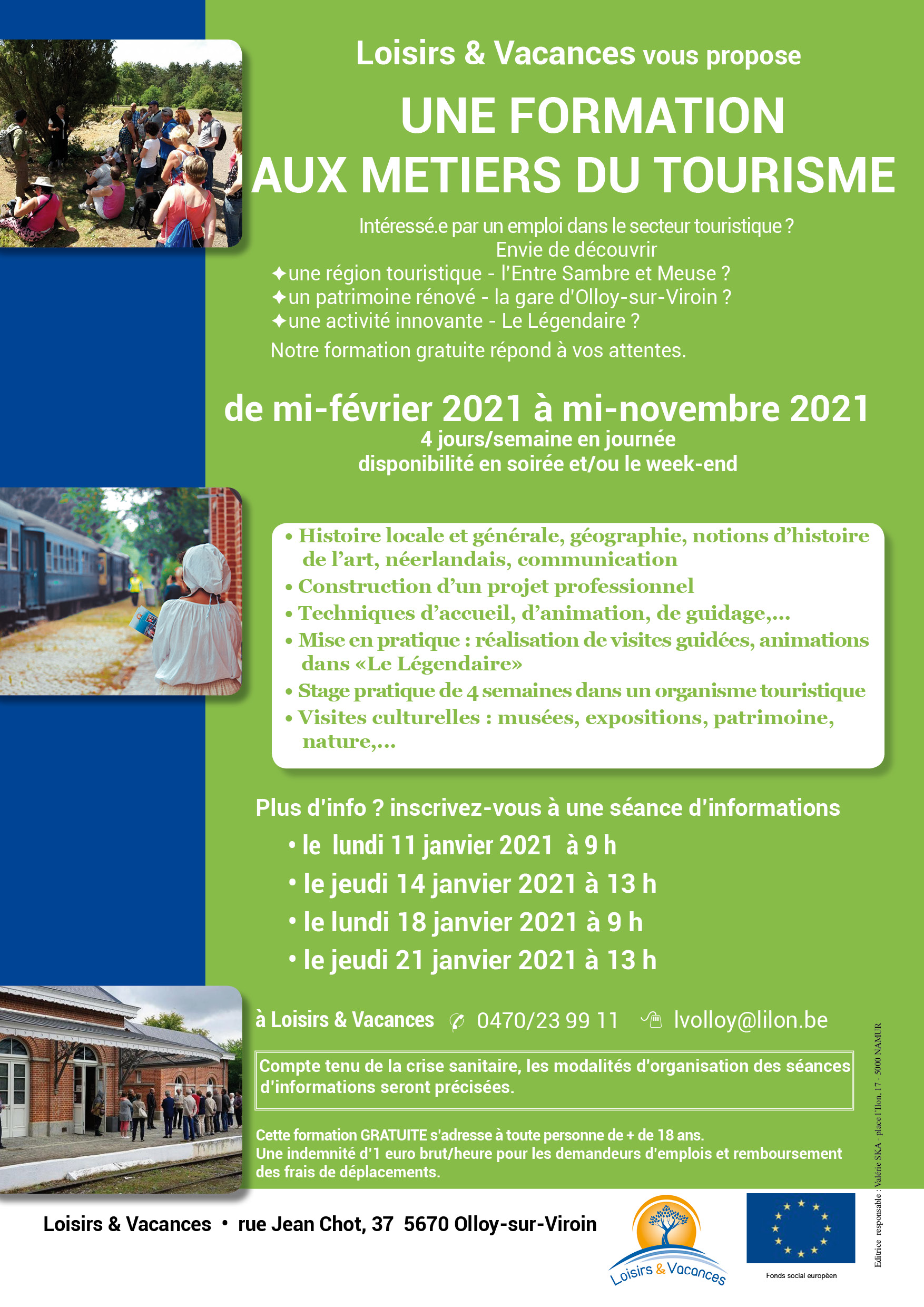 affiche formation 2021